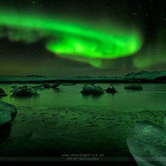 Jokulsarlon Lights – FOTO DESTACADA