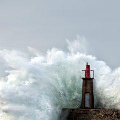 Cuando golpea la mar