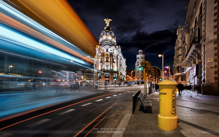 Madrid City Lights III (Jesús M. García)