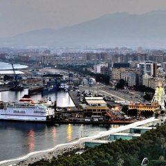 El puerto desde Gibralfaro