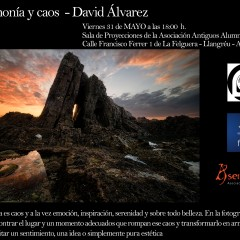 """31 de mayo: """"Armonía y Caos"""" por David Alvarez"""
