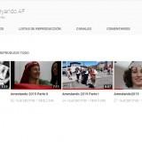 Canal de youtube: todos nuestros vídeos
