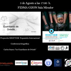 Los guardianes de Oviedo y KHAYYAM International Exhibition en FIDMA