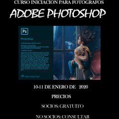 CURSO DE INICIACIÓN PHOTOSHOP PARA  FOTÓGRAFOS