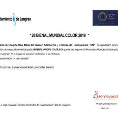 Inauguración 28 Bienal Color FIAP 2019