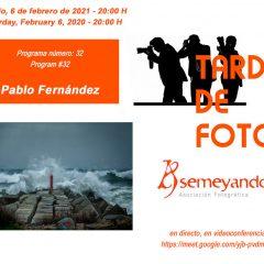 Tardes de Fotos:Pablo Fernández, presidente de la asociación de Fotógrafos Aficionados de Vega