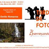 Una tarde con Emilio Romanos