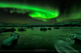 Jokulsarlon Lights – FOTO DESTACADA