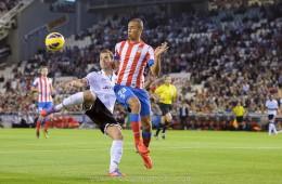 Valencia-Atlético de Madrid (golazo de Roberto Soldado)