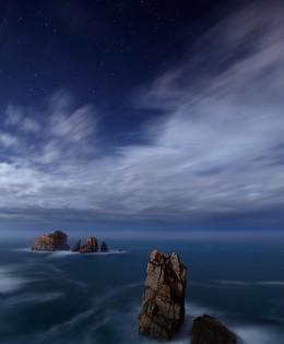Noche de Luna y nubes – FOTO DESTACADA