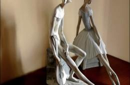 Bailarina y Arlequin