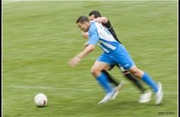 peleando la pelota