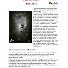 Una parte de EXODOS: J. Larbec