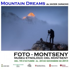 "Exposición y audiovisual ""Mountain Dreams"" Foto Montseny 2013"